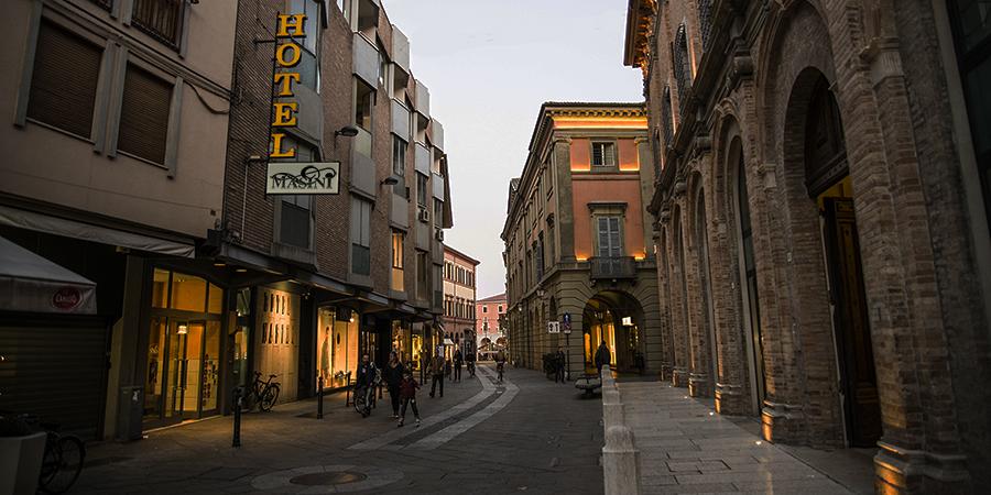 Scegli la comodità del centro storico di Forlì